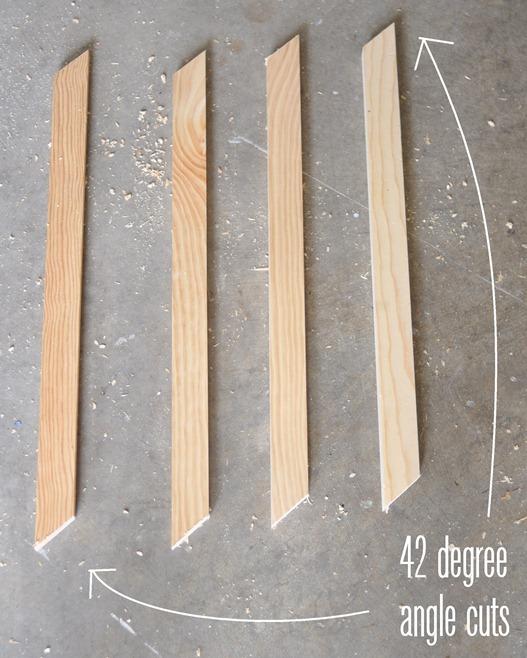 42 degree cuts