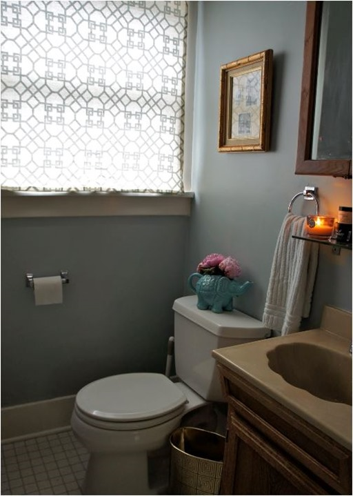 clementine and olive bathroom
