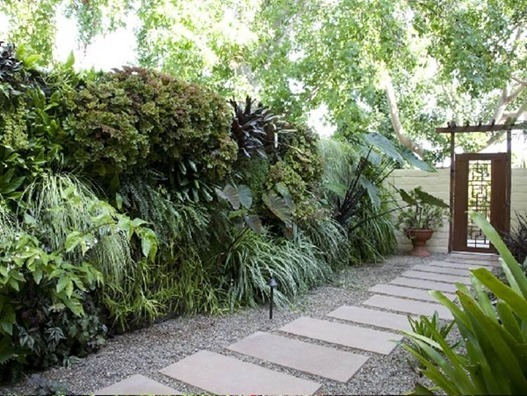 side yard walkway