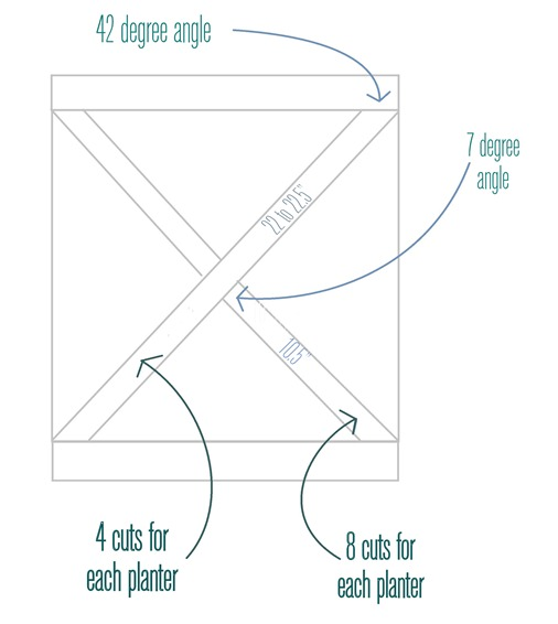 criss cross measurement details