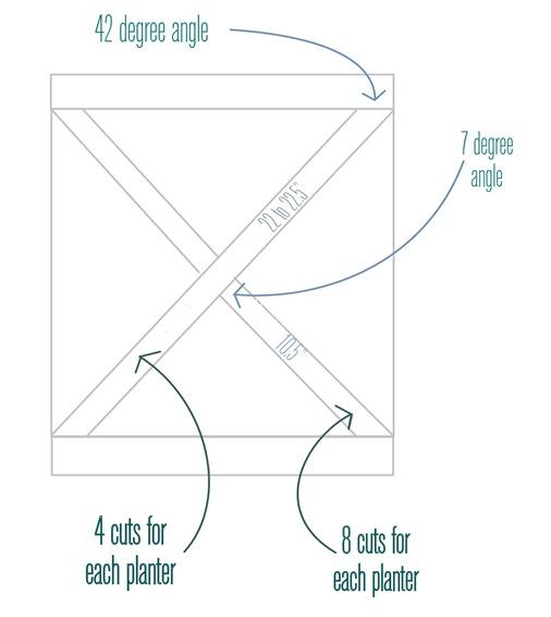criss cross measurement details