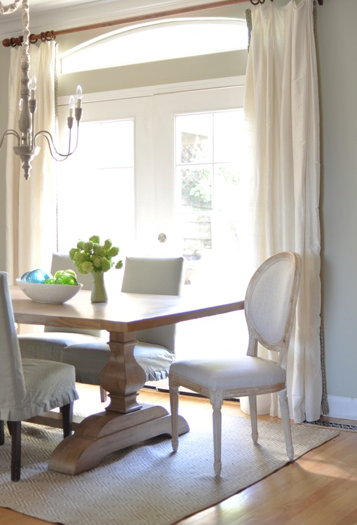 dining room bright
