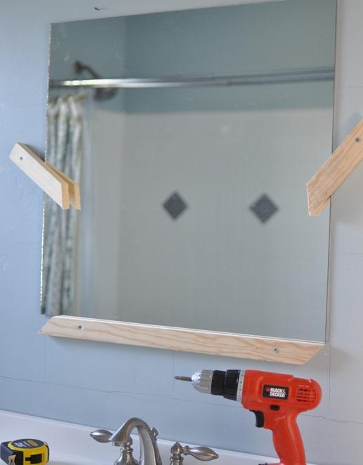 mirror support