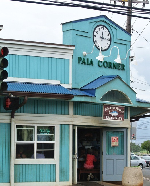paia fish market on corner