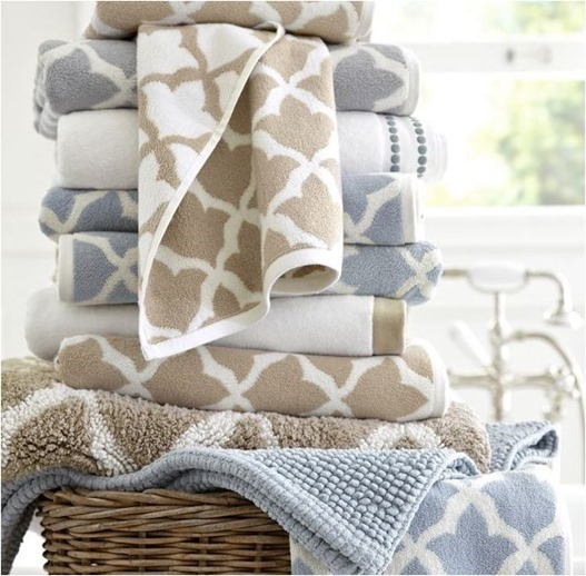 pottery barn towels