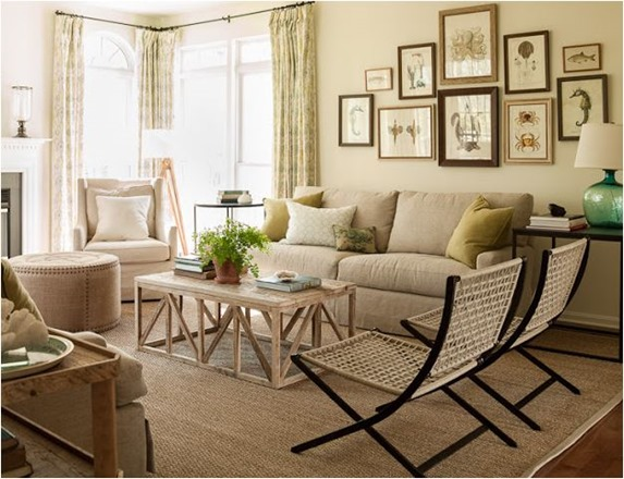 pure style home client family room