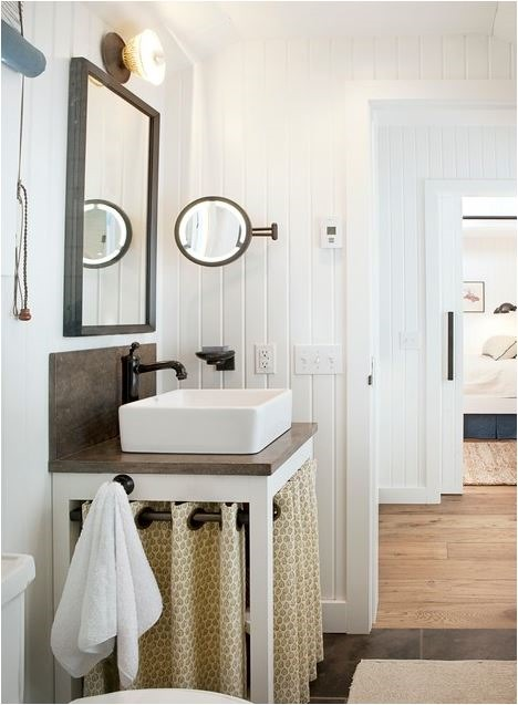 skirted sink leverone design