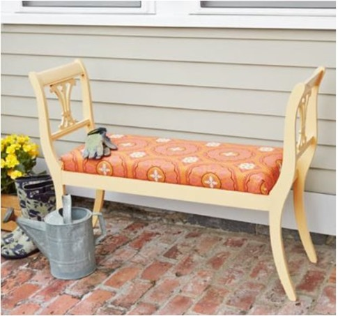 bench from chairs toh