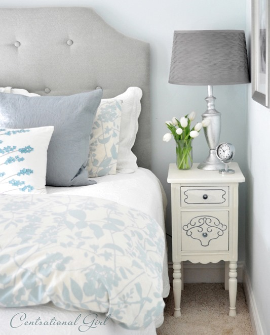 Room With Shade Pf White Painted Wall