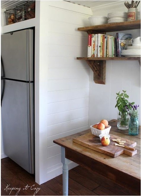 built in refrigerator cabinet keepingitcozy