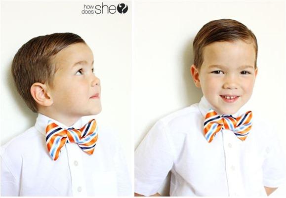diy bow tie howdoesshe