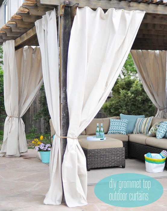 Outdoor Curtain Fabric - Curtains Design Gallery