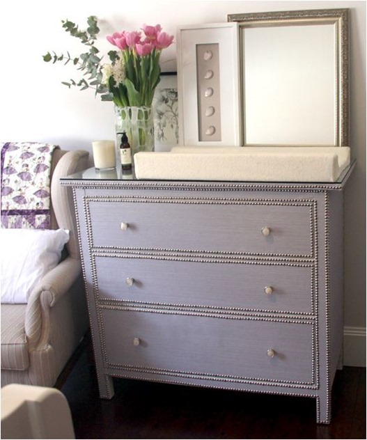 elsee blog ikea hemnes with grasscloth