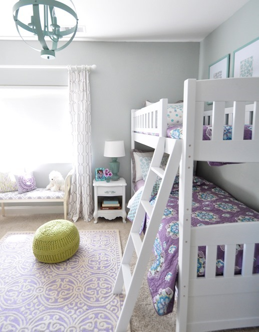 girls room bunk beds