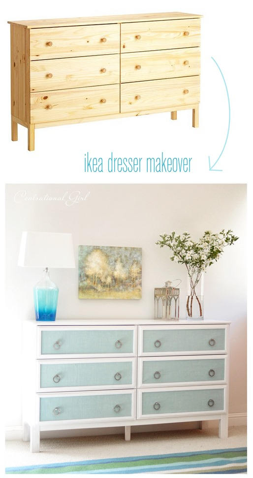 Textured panel dresser makeover centsational girl for Comodas baratas ikea