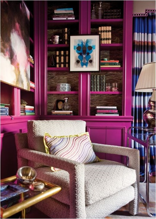 magenta bookcases lindsay harper atlanta homes mag