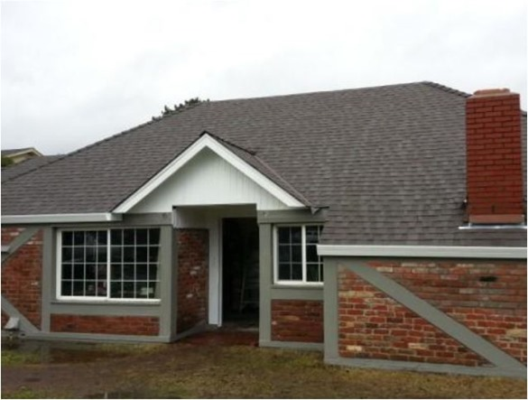 brick childhood home