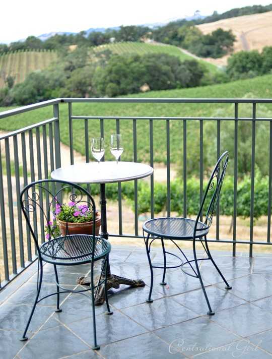 hanna winery table view