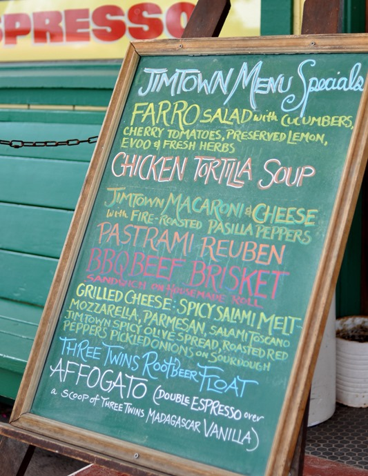 jimtown menu