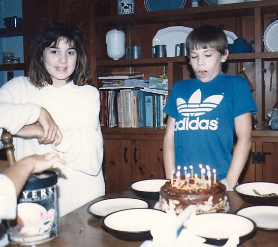 kitchen cabinets in back