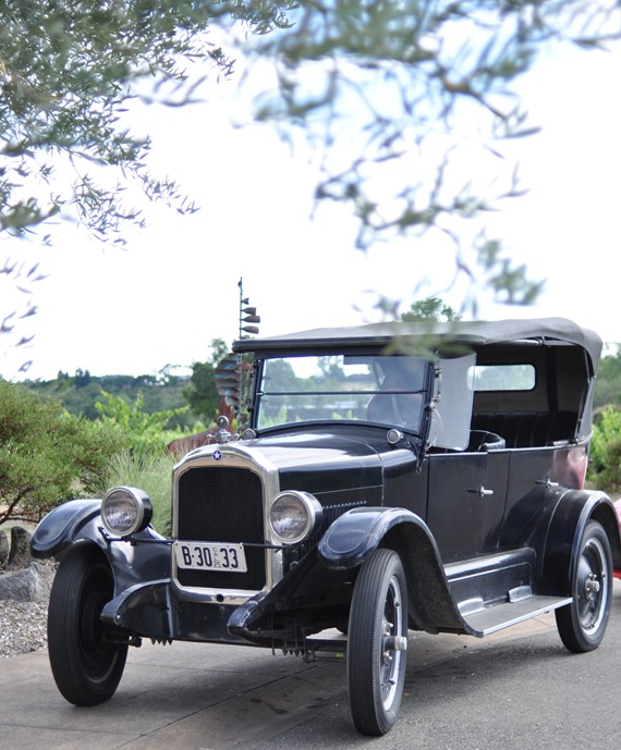 old car white oak winery