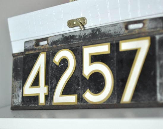 original address plaque