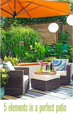 perfect patio