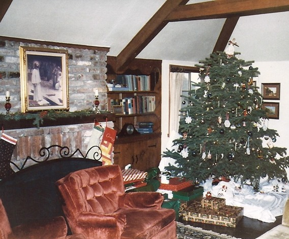 red chairs in living room