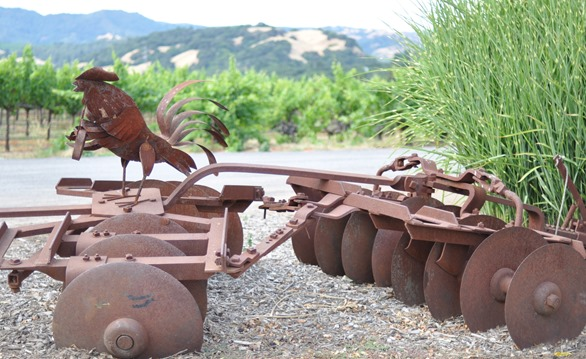 white oak sculpture