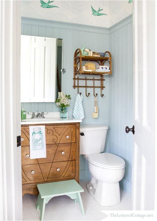 cottage bath theletteredcottage