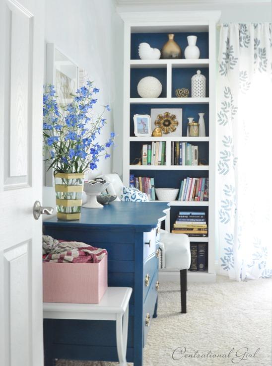 dresser view from door