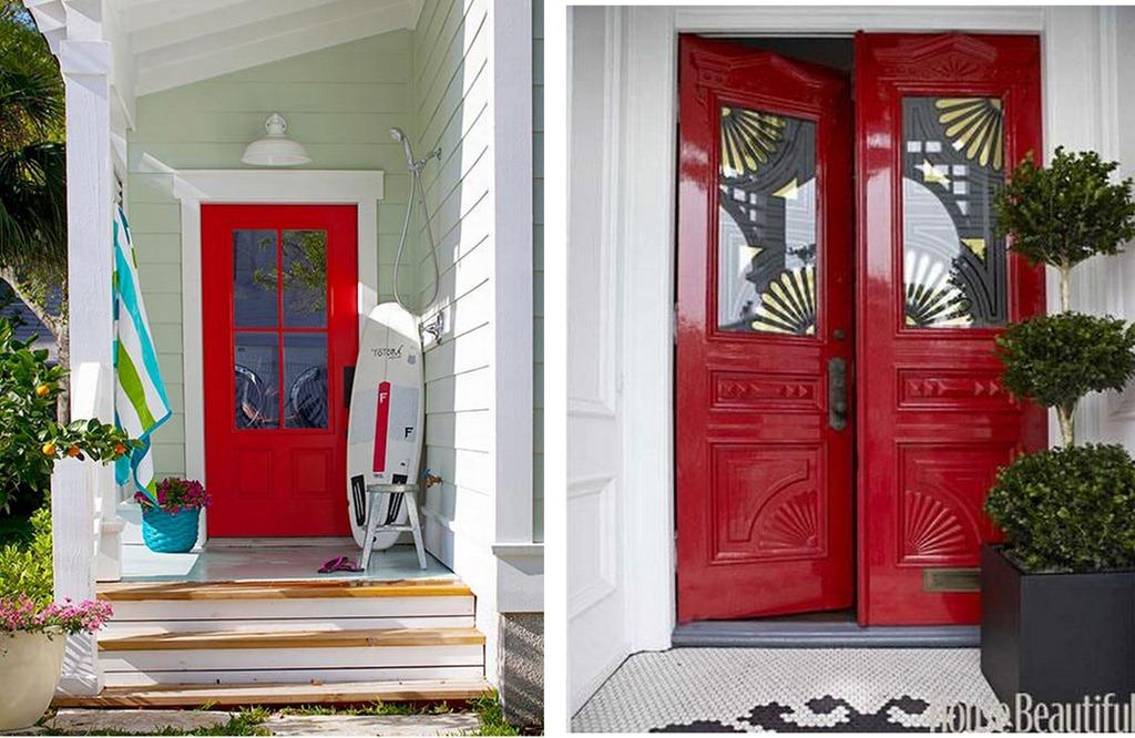 Red Front Doors Inspiration Of Red Front Door Photos