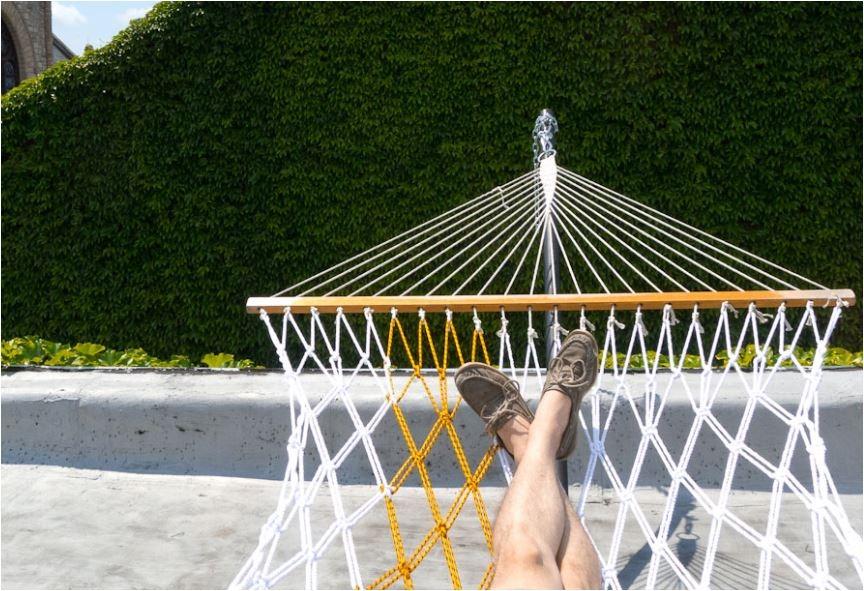 Botb 7 centsational girl for Rope hammock plans