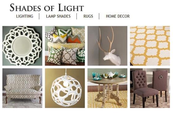 shades of light home decor