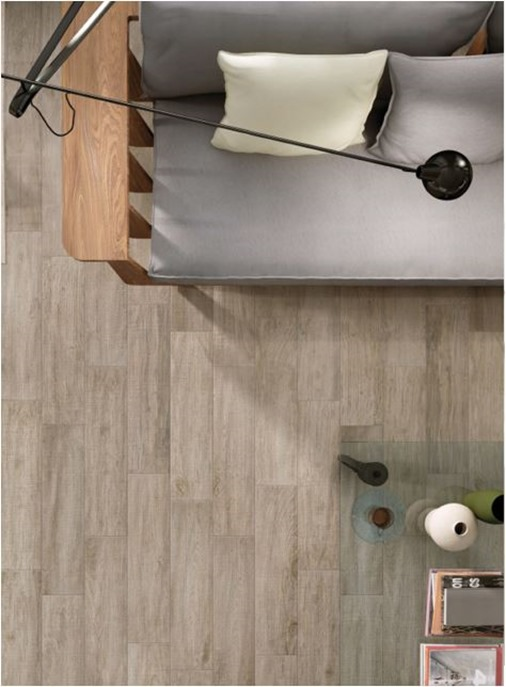 wood look porcelain tile