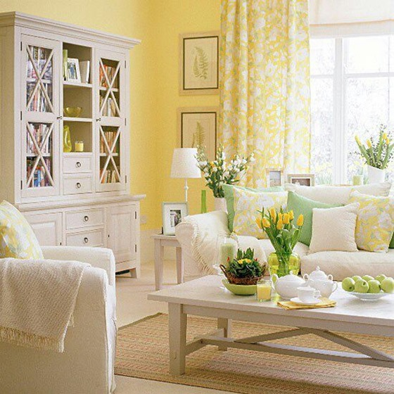 decorating with yellow walls living room decorating with yellow centsational style 24319