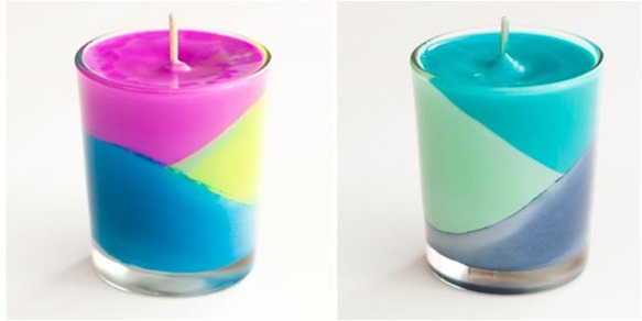 colorblock candles brit and co
