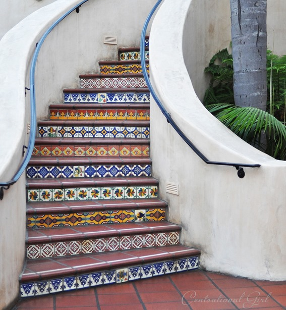 58 Cool Ideas For Decorating Stair Risers: Inspired By Tiled Staircases