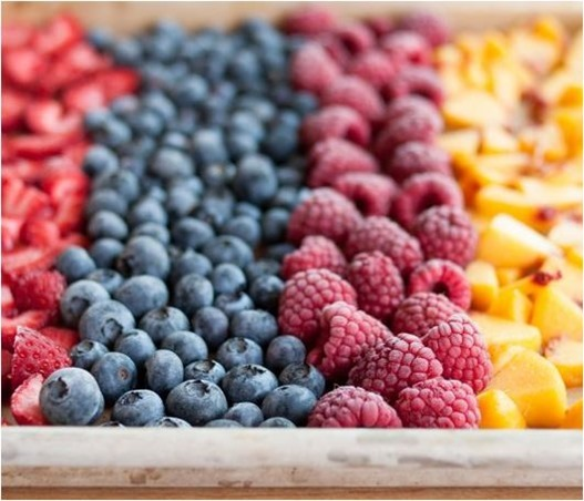 freeze summer fruit