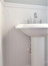installing beadboard wallpaper