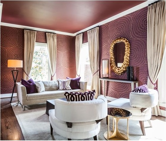 decorating with purple centsational girl. Black Bedroom Furniture Sets. Home Design Ideas