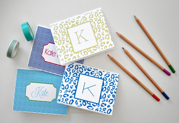 monogrammed and personalized