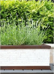 mosaic tile planter