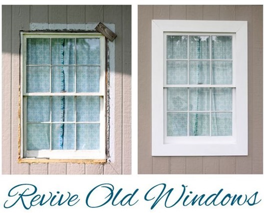 old window makeover shabbycreekcottage