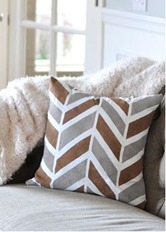painted herringbone