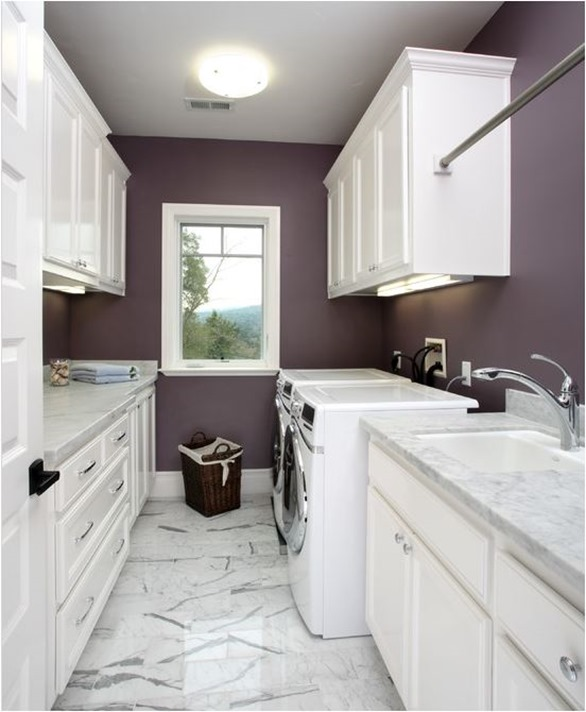Painting A Room With Purple Accent Wall: Decorating With… Purple!