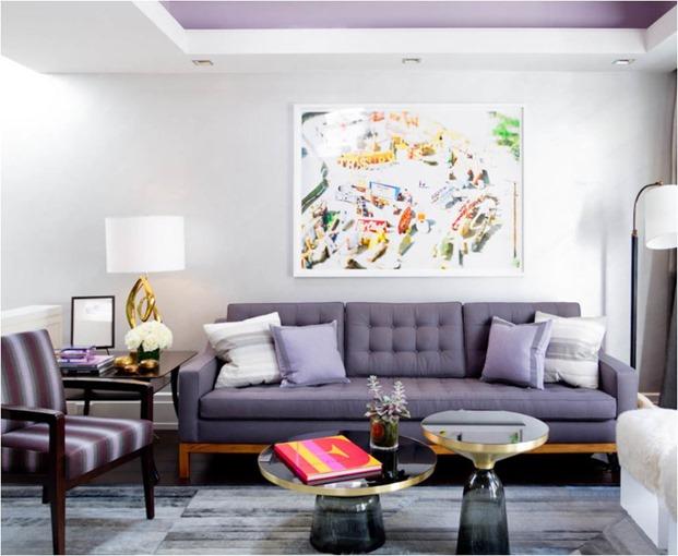 purple tufted sofa kips bay