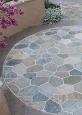 stone patio installation