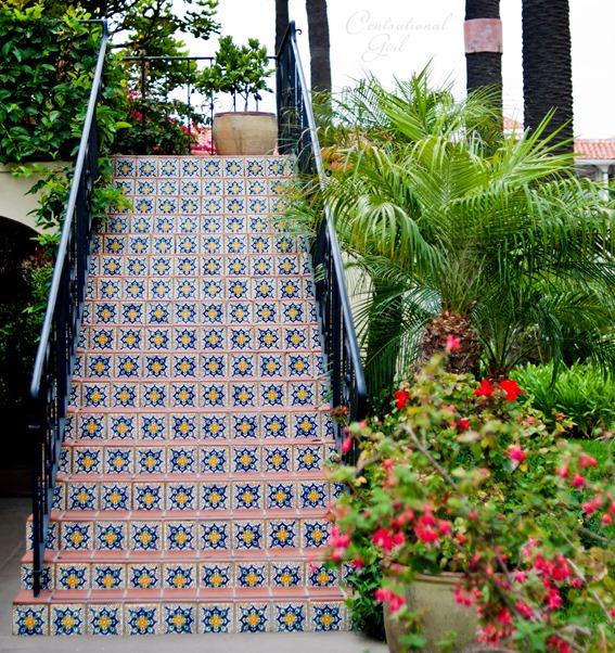 symmetrical staircase santa barbara