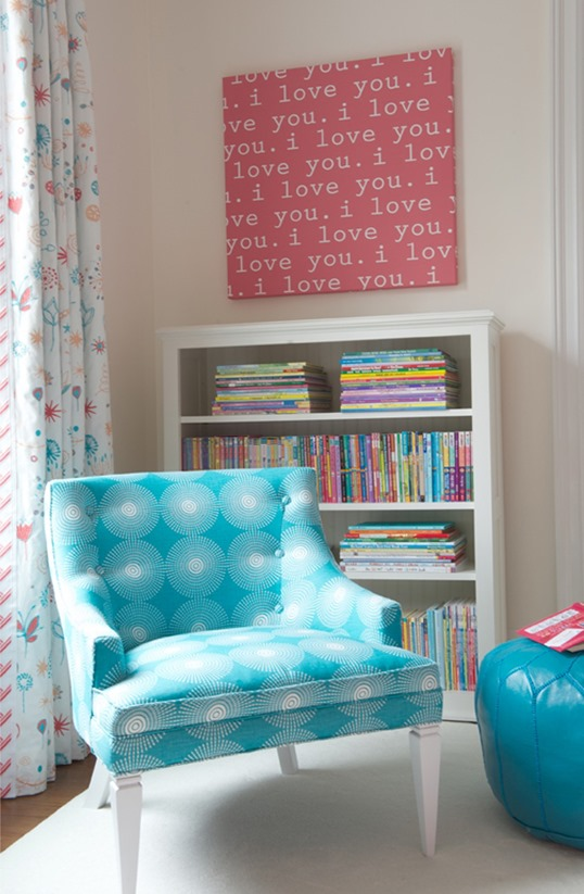 turquoise chair kerry hanson